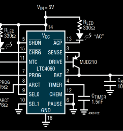 nimh nicd battery charger circuit homemade circuit projects nimh battery charger circuit diagram using ltc4060 [ 1222 x 816 Pixel ]