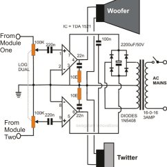 Circuit Diagram Of Home Theater Electron Dot For Lithium How To Make An Outstanding System Homemade Stereo Amplifier
