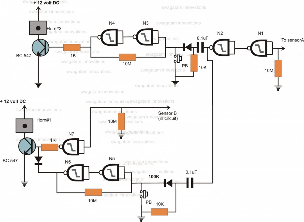 5 Automatic Water Level Controller Circuits