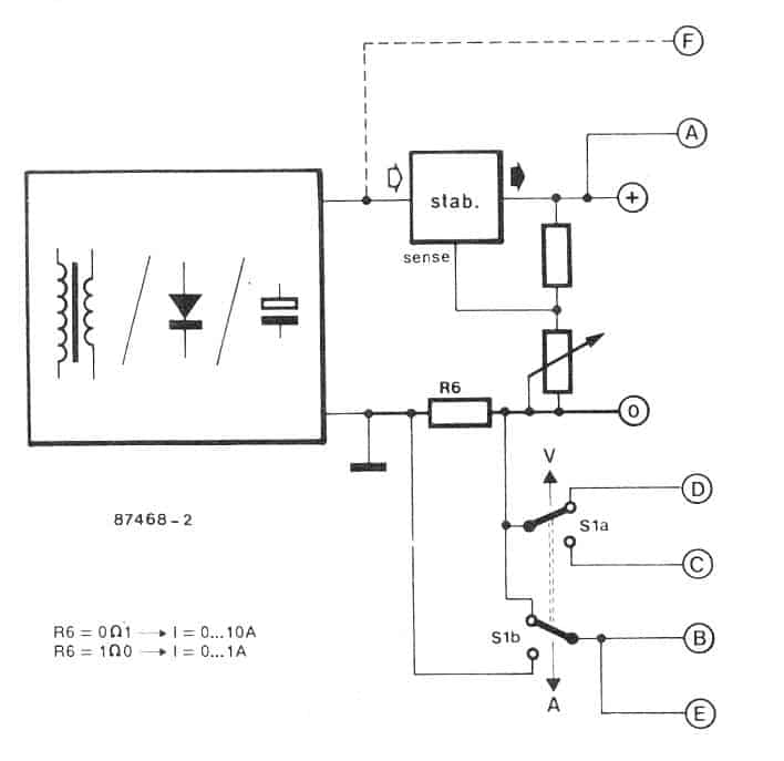 digital ac ammeter circuit diagram haldex hydraulic pump wiring how to make a voltmeter module circuits homemade which implies that the current sensing resistor is either 0 1 ohm or as shown in below