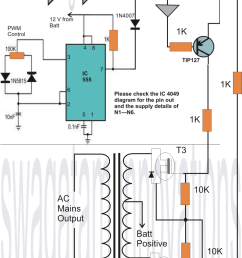 homemade 2000 va power inverter circuit homemade circuit projects [ 990 x 1600 Pixel ]