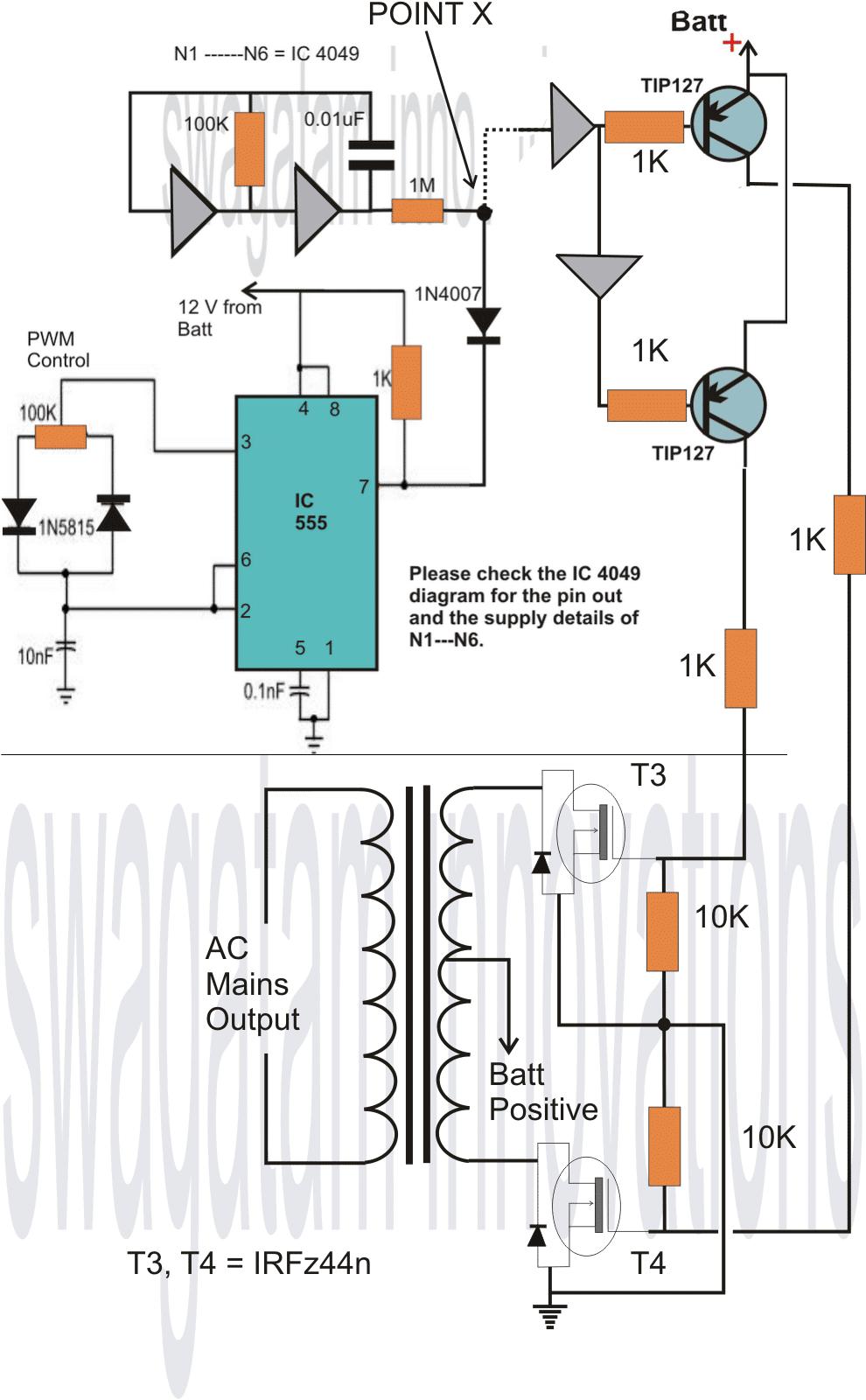 hight resolution of homemade 2000 va power inverter circuit homemade circuit projects