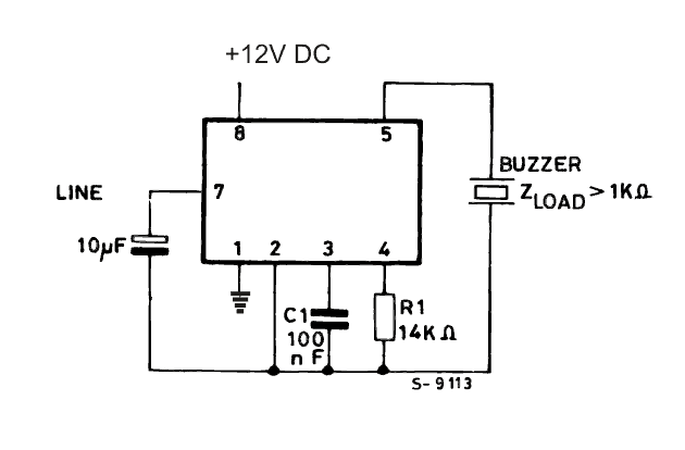 threemode tone generator circuit