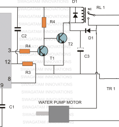 timer based water level controller circuit homemade circuit projects customized water flow controller with timer circuit circuit diagram [ 1576 x 1126 Pixel ]