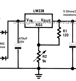 multiple cellphone charger circuit using ic 7805 [ 1408 x 646 Pixel ]