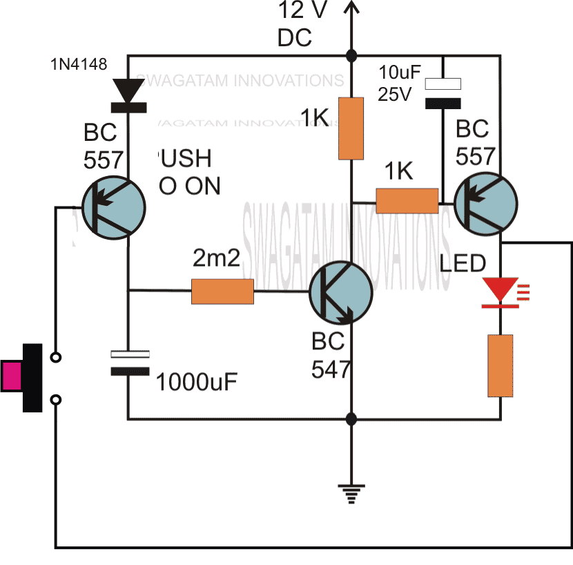 Power On Delay Circuit Diagram