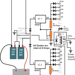 Ups Wiring Diagram Circuit Ddec Ii Transformerless For Computers Cpu Homemade Should Be Carefully Soldered To The Relevant Wires Of Power Supply By Slightly Stripping Wire Insulation And Then Taping Them
