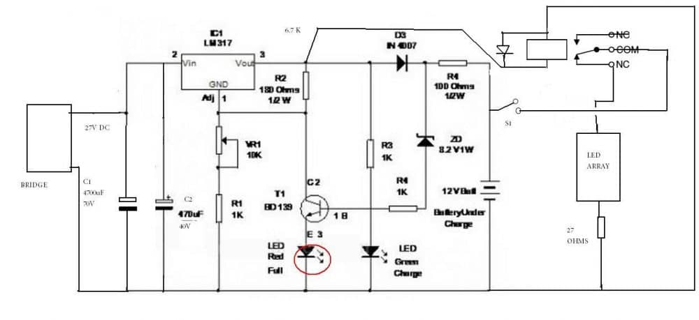 Industrial Battery Charger Wiring Diagram Image