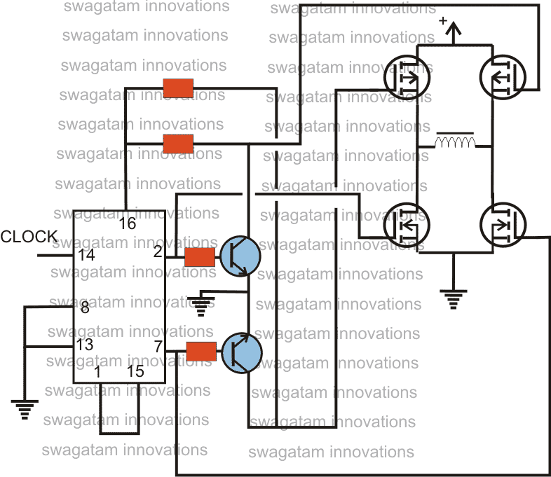 555 4017 circuit diagram