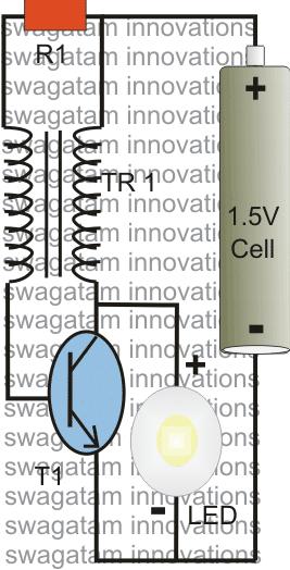 10 watt led driver circuit diagram human eye parts 1 using a joule thief