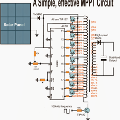 Solar Panel Charge Controller Circuit Diagram Pioneer Premier Stereo Wiring Homemade Mppt  Poor Mans Maximum Power