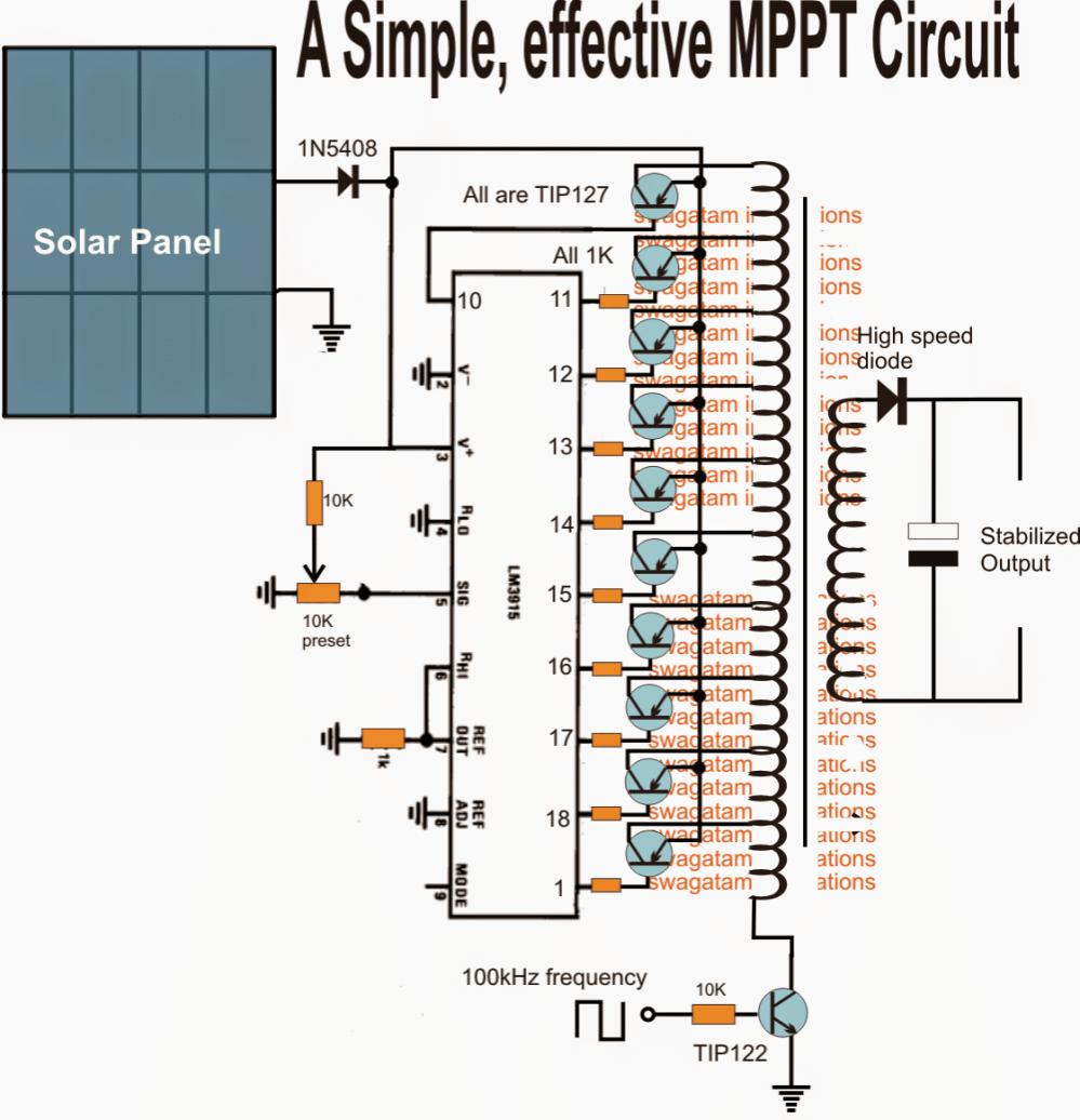 medium resolution of homemade solar mppt circuit poor man u2019s maximum power 5000w power inverter schematic diagram pure sine