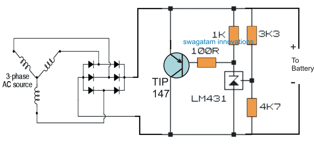 Motorcycle MOSFET Full Wave Shunt Regulator Circuit