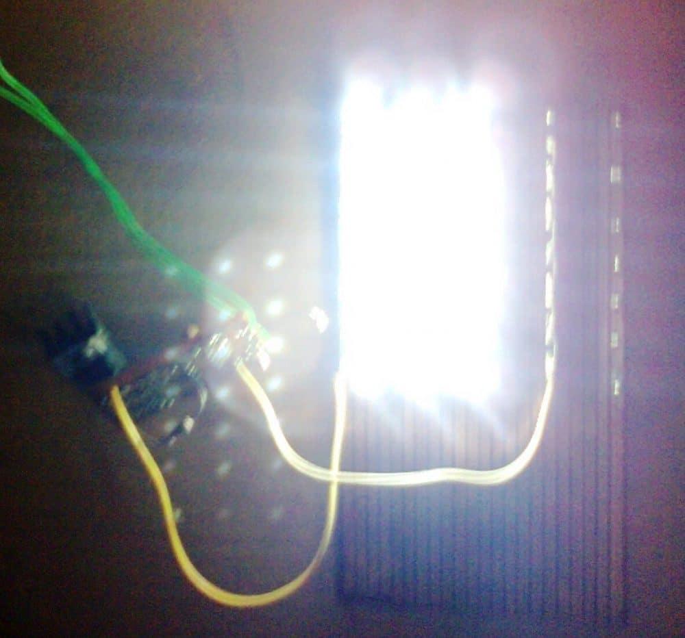 10 watt led driver circuit diagram leviton timer switch wiring automatic 40 solar street light homemade