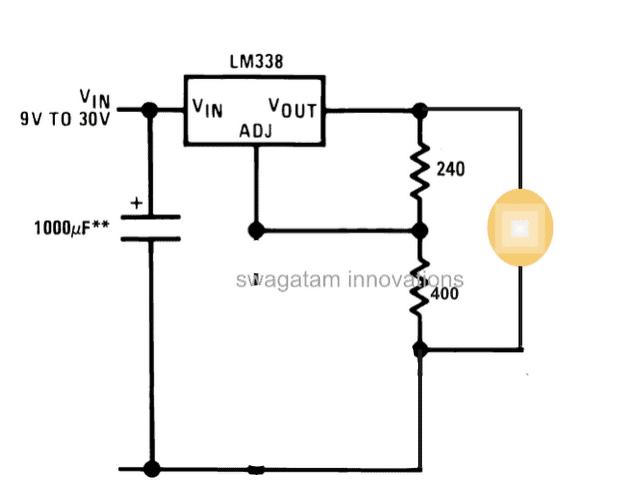 3 Watt, 5 Watt LED DC to DC Constant Current Driver