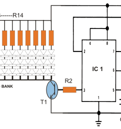 the circuit shown above is the pwm controlled 40 watt led lamp circuit the circuit has been elaborately explained in this 40 watt street light circuit  [ 1191 x 781 Pixel ]