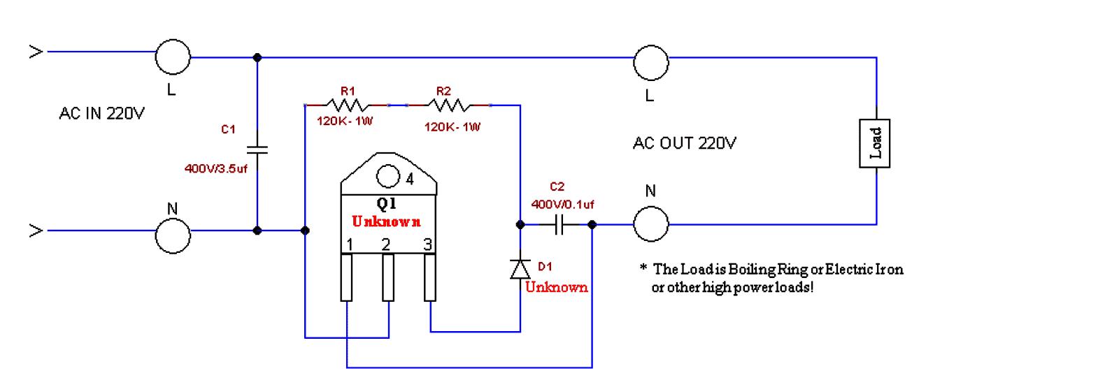 Simple Boost Converter Schematic Circuit