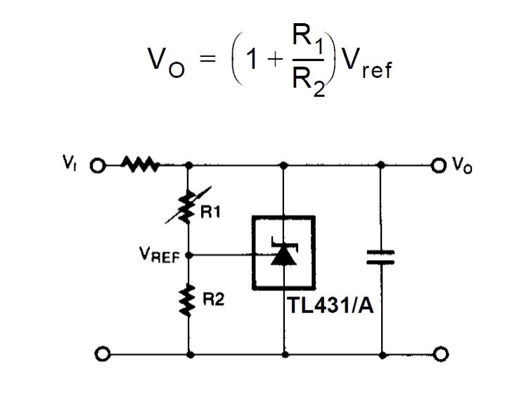 block diagram of shunt voltage regulator