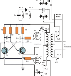 inverter charger circuit diagram [ 1007 x 1268 Pixel ]