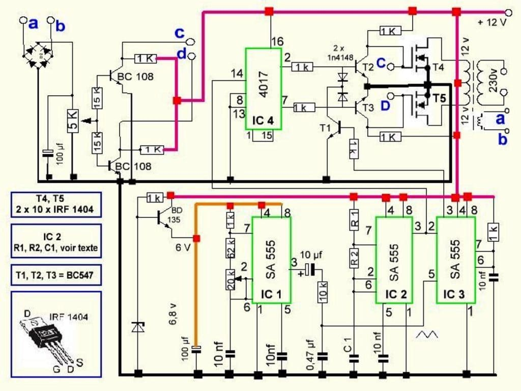 hight resolution of 300 watts pwm controlled pure sine wave inverter circuit homemade pure sine wave inverter diagram pdf