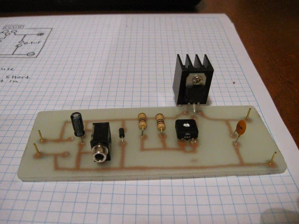 High Current Rectifier Next I Modified The Over Voltage Circuit
