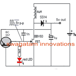 Pwm Solar Charge Controller Circuit Diagram 1993 Volvo 940 Wiring Charging A Cell Phone From 1.5v Battery   Homemade Projects
