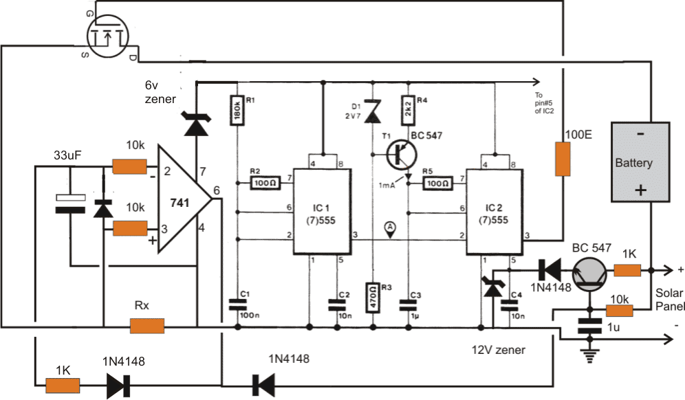 I/V Tracker Circuit for Solar MPPT Applications