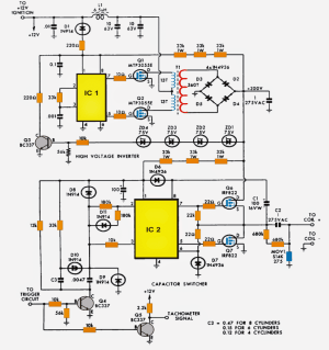 Multispark CDI Circuit | Homemade Circuit Projects