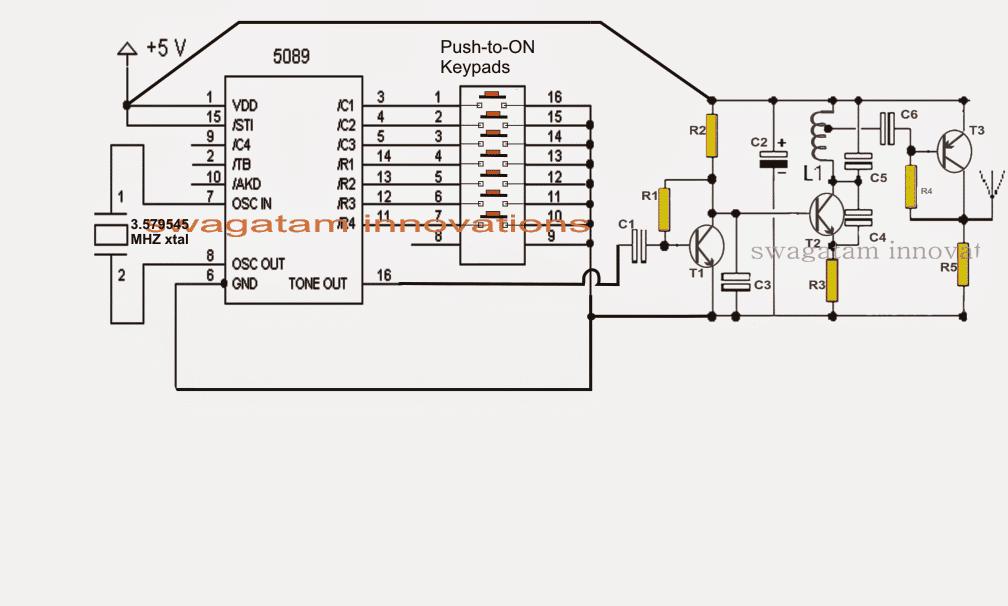 fm receiver circuit circuit diagram