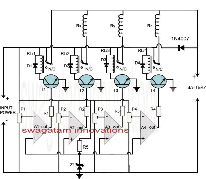 quad 2 circuit diagram