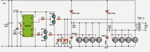 5kva Ferrite Core Inverter Circuit  Full Working Diagram