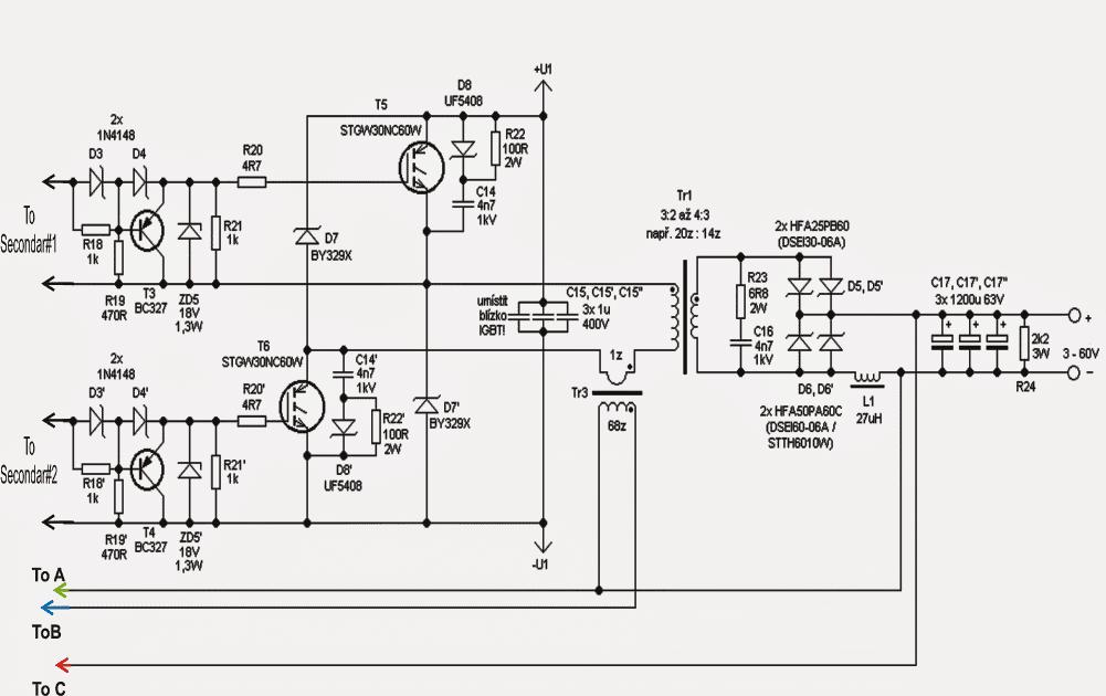 igbt driver circuit schematic