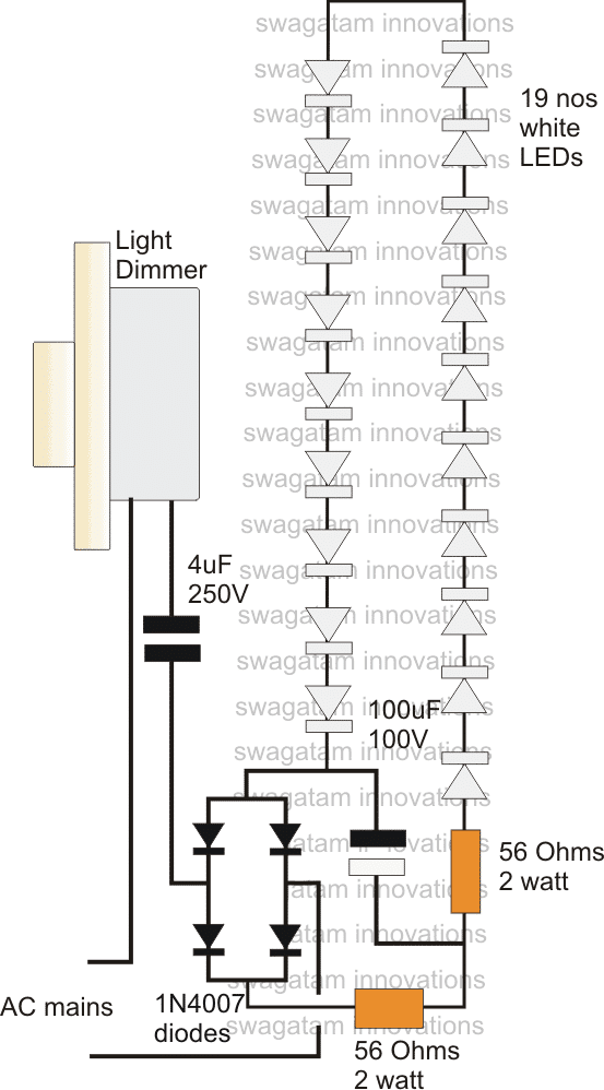 led driver circuit diagram together with led dimmer switch wiring