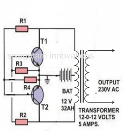 the above solar panel regulator may be configured with the following simple inverter circuit which will be quite adequate for powering the requested lamps  [ 966 x 1024 Pixel ]