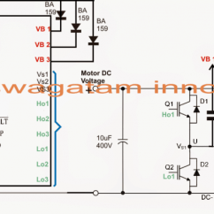 220v 3 Phase Motor Wiring Diagram 2000 Ford Expedition Ignition Brushless (bldc) Driver | Homemade Circuit Projects