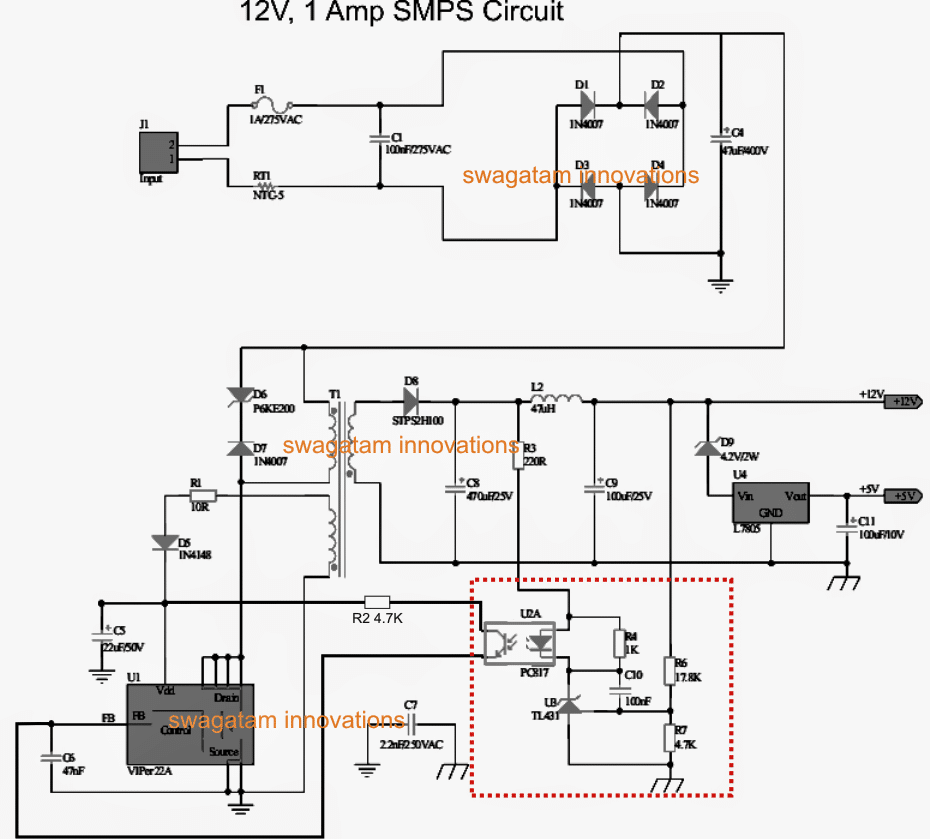 Variable SMPS Driver Circuit