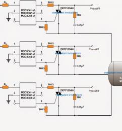 however in case a 3 phase motor is used the following idea can be used for implementing the proposed 3 phase soft start on motors  [ 1024 x 819 Pixel ]