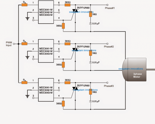 small resolution of however in case a 3 phase motor is used the following idea can be used for implementing the proposed 3 phase soft start on motors