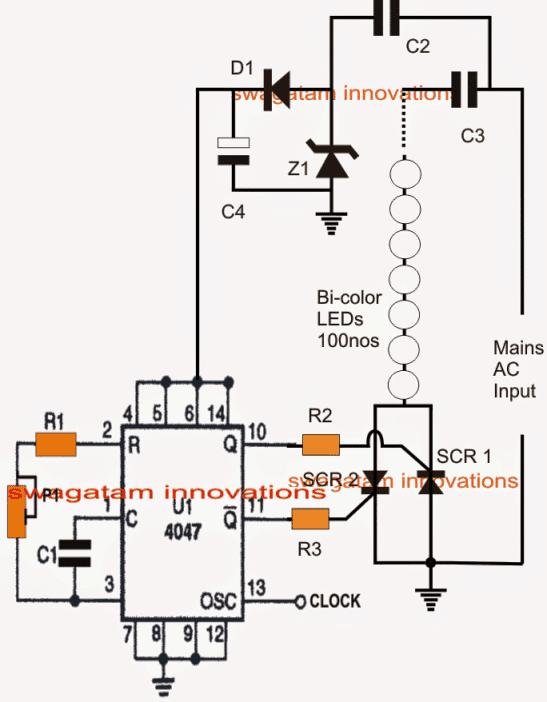 led flasher circuit description
