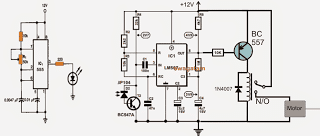Remote Controlled Fish Feeder Circuit