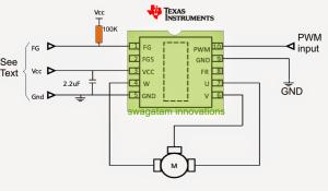 Sensorless BLDC Motor Driver Circuit | Homemade Circuit