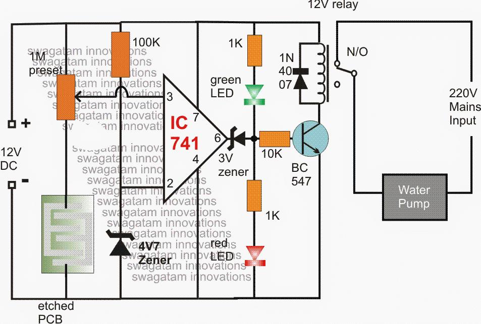 Abb Motor Starter Wiring Diagram Automatic Evaporative Air Cooler Circuit Homemade