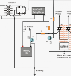 triac based inverter mains ac changeover circuit [ 1024 x 903 Pixel ]