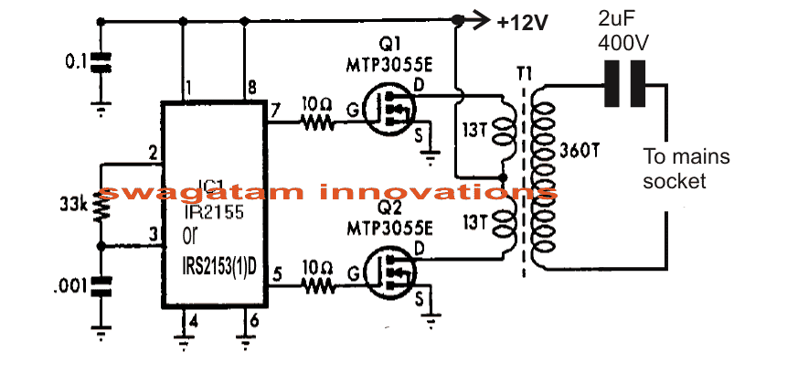 power in circuit formula
