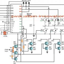 Microcontroller Based Inverter Circuit Diagram Trailer Wiring Harness 4 Way Igbt Motor Speed Control Impremedia