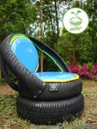 Tire planter designs, homemade repurposed car tires