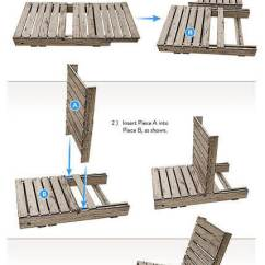 How Are Chairs Made Grey Wingback Chair Pallet Diy Plans Free Easy Examples For Homemade Garden Construction Drawings And Building Plan