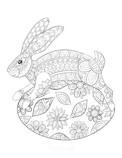 Adult Easter Coloring Pages : adult, easter, coloring, pages, Easter, Coloring, Pages, Printables