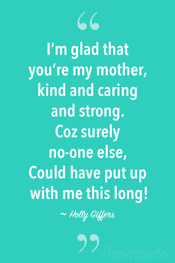 Funny Mothers Day Poem From Husband : funny, mothers, husband, Mother's, Poems, Sending