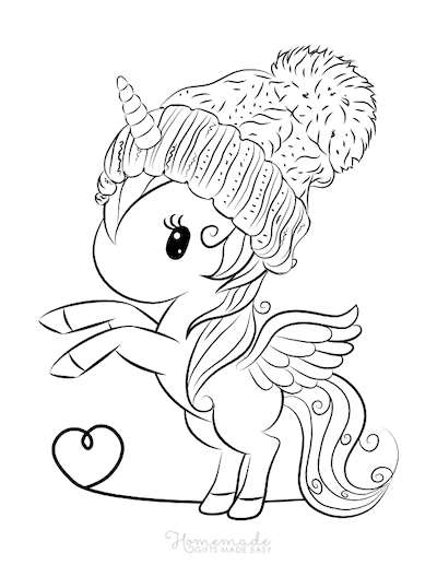 Unicorn Cute Coloring Pages : unicorn, coloring, pages, Magical, Unicorn, Coloring, Pages, Adults, Printables